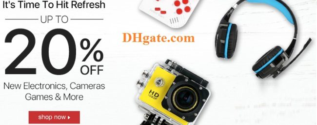 DHgate coupon codes and deals