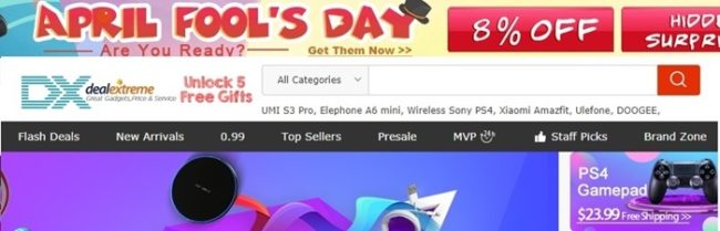 dx coupon codes and flash deals