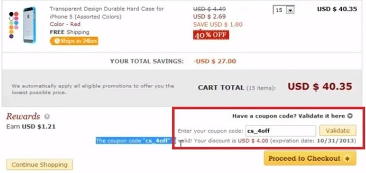 how to use miniinthebox coupon codes