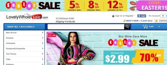 lovelywholesale coupon codes